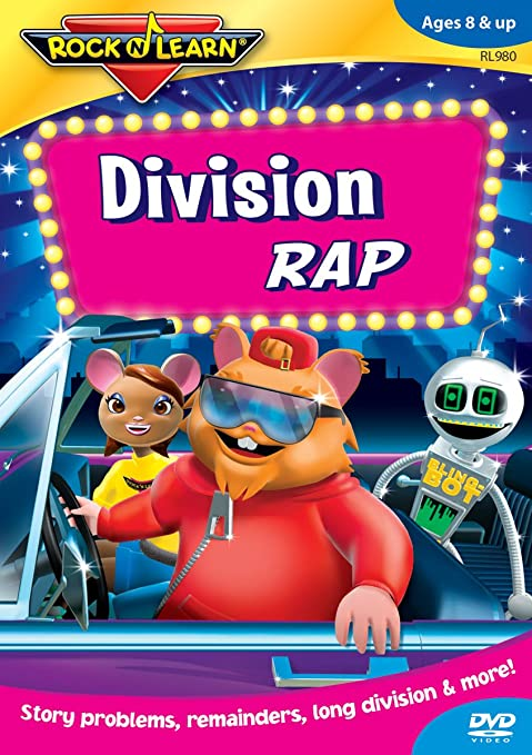 Amazon.com: Rock 'N Learn: Division Rap: Rock 'N Learn, Richard ...