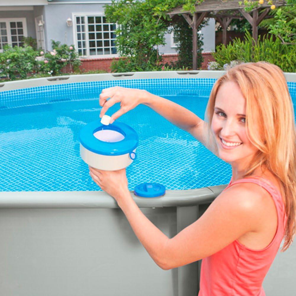 17cm Pool Thermometer Blau Schwimmendes Thermometer Aus Kunststoff Poolzubeh/ör