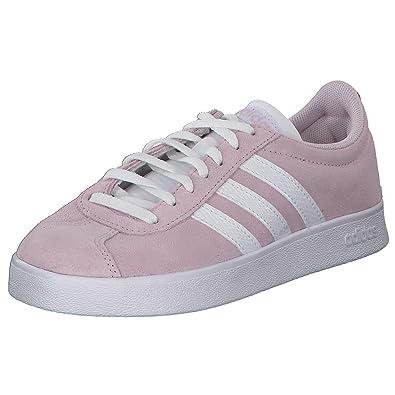 adidas VL Court 2.0 Sneaker in Übergrößen Pink F35129 große ...