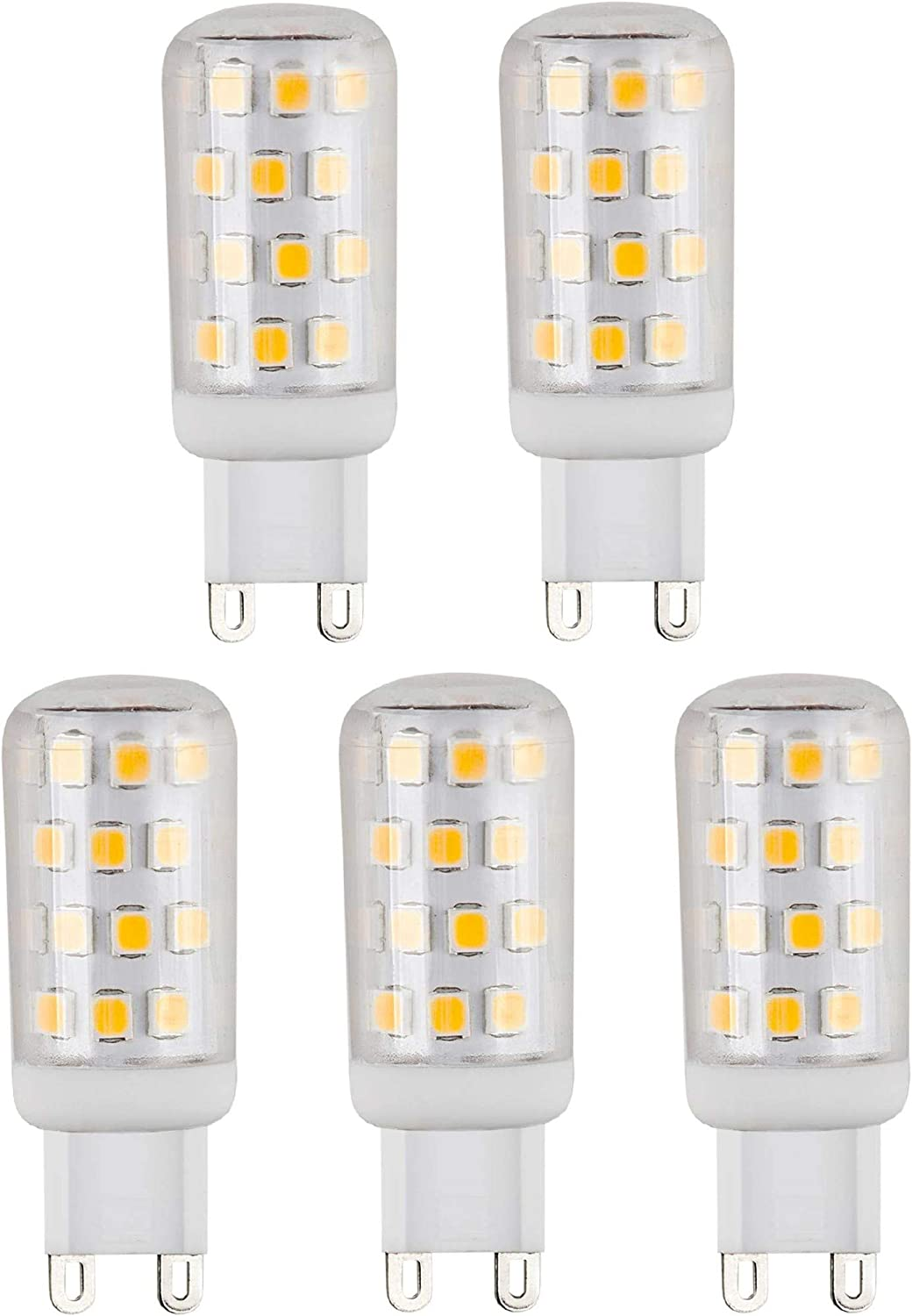 G9 33W = 40W ECO Halogen LED Bulbs Clear Capsule Lamps Dimmable 240v Energizer