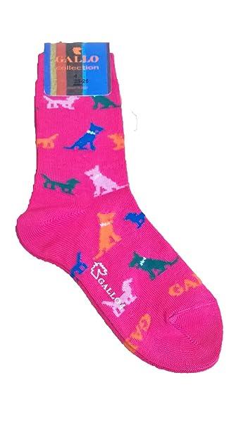 Calcetines Socks corta algodón ligero Niño/a Gallo l0972 C perro: Amazon.es: Ropa y accesorios