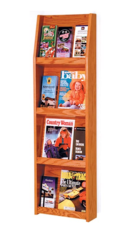 Amazon.com: Offex Slope 12 Pocket Literature Display, 4 x 3 ...