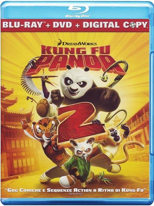 kung fu panda 2 - combo pack blu-ray + dvd + digi Italia Blu-ray ...