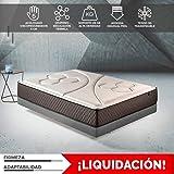 Komfortland Colchon 150x190 viscoelástico Memory Vex Foam de Altura 25 cm, 5 cm de ViscoProgression