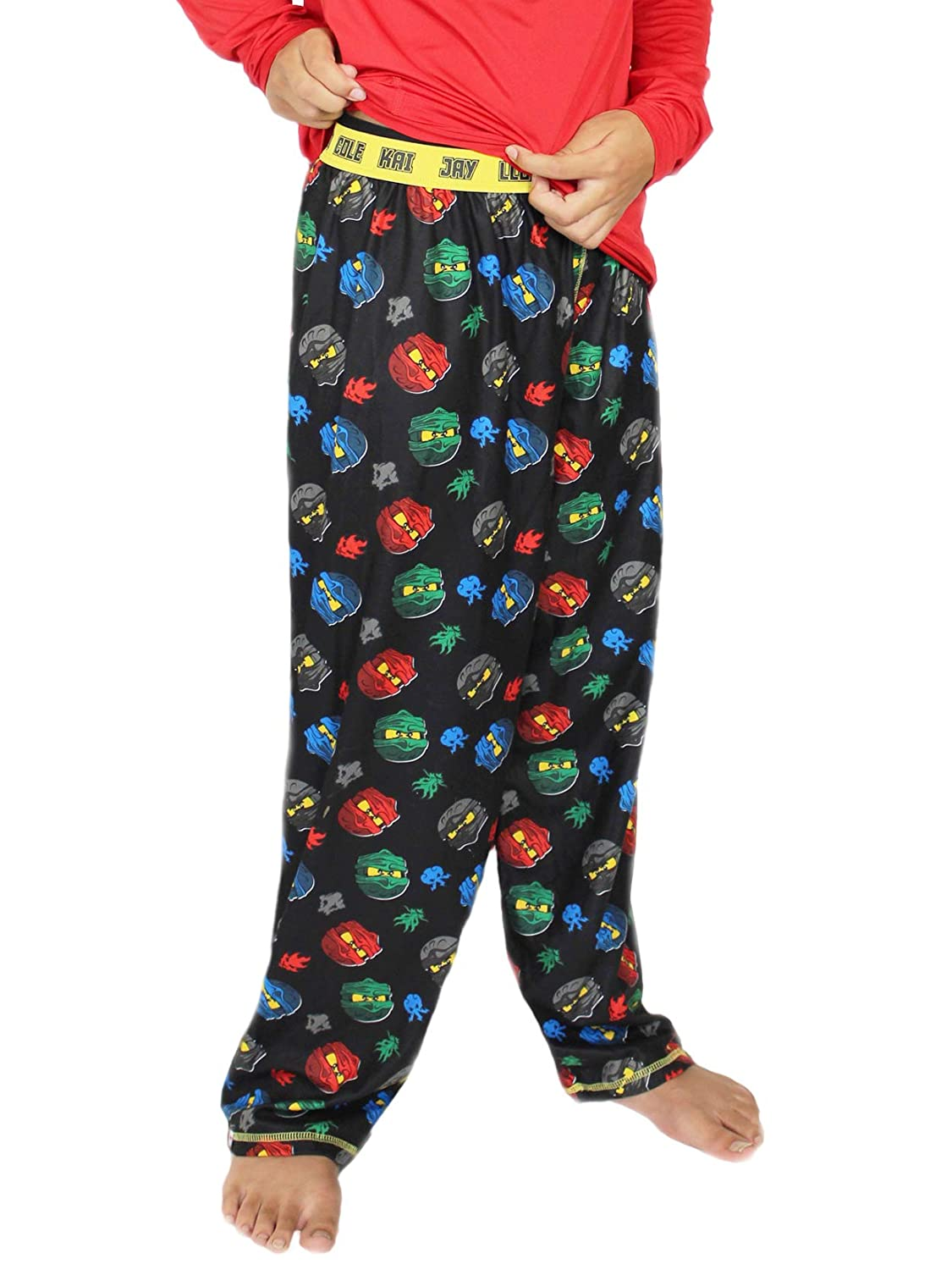 LEGO Ninjago Boys Flannel Lounge Pajama Pants (Little Kid/Big Kid)