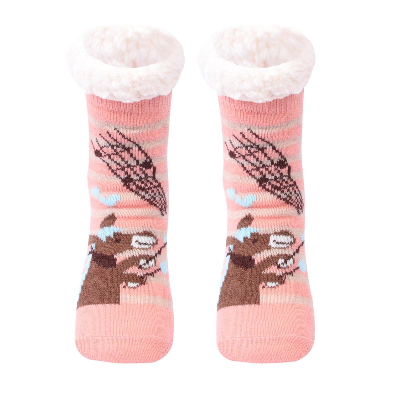 Gather Other I calzini di lana appesantiti, I calzini quotidiani per le donne, I calzini non scivolosi di tessuti