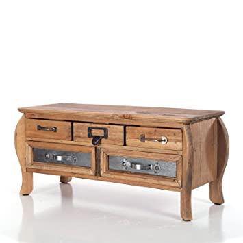 Design Delights Vintage Holz Kommode Alterna 5 Schubladen 43 5 Cm