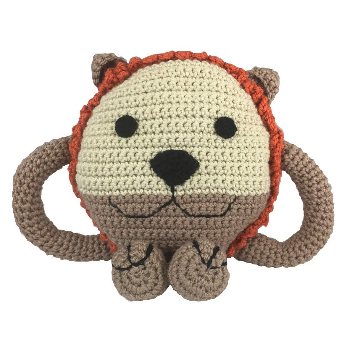Creative World of Crafts Kit, 7, Huggable Almohada de león ...