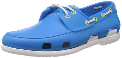 ee7f61e9f19388 crocs Men s Ocean and White Boat Shoes - M10  Buy Online at Low ...