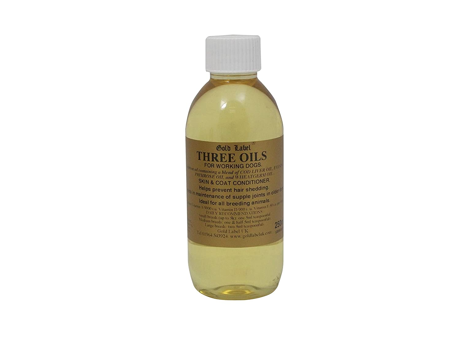 Amazon.com: canina tres aceites, Gold Label, Suplemento de ...