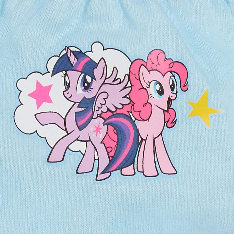My Little Pony Girls Multi Pack Briefs Kids Rainbow Dash Underwear Knickers Pack of 3
