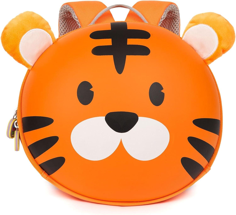boppi Tiny Trekker Mochila Infantil De Viaje para Vacaciones - 4 litros - Tigre