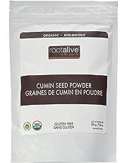 Rootalive Organic Cumin Seed Powder, 200-Gram
