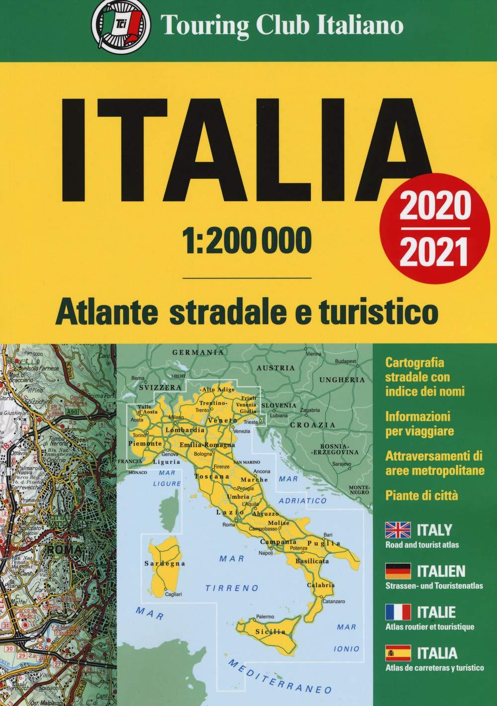 Cartina Stradale nord Est Italia