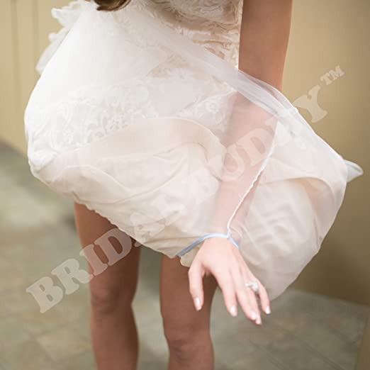 69e895c354ab Bridal Buddy-The Original- easily holds your gown so you can use the  bathroom alone- As Seen on Shark Tank at Amazon Women's Clothing store: