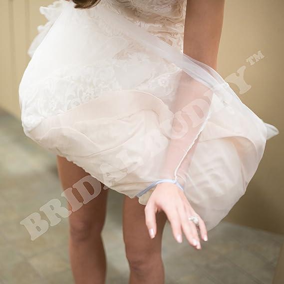 f37d83606bfa4 Bridal Buddy - Bridal Buddy Undergarment Slip - White - Average/Tall:  Amazon.ca: Clothing & Accessories