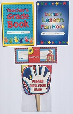 amazon 先生gradeレッスンプランbook teaching学校planner教室signs