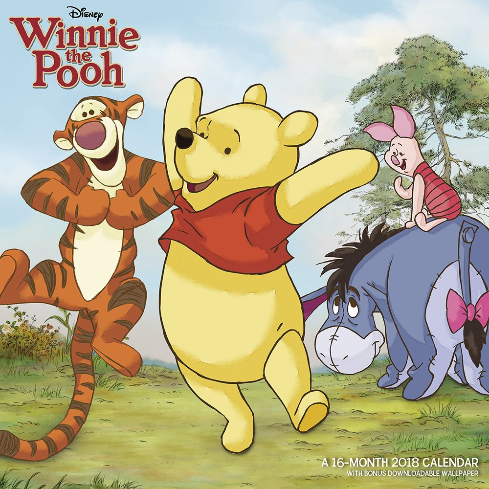 2018 Winnie the Pooh Wall Calendar (Mead): Mead: 0038576723689 ...
