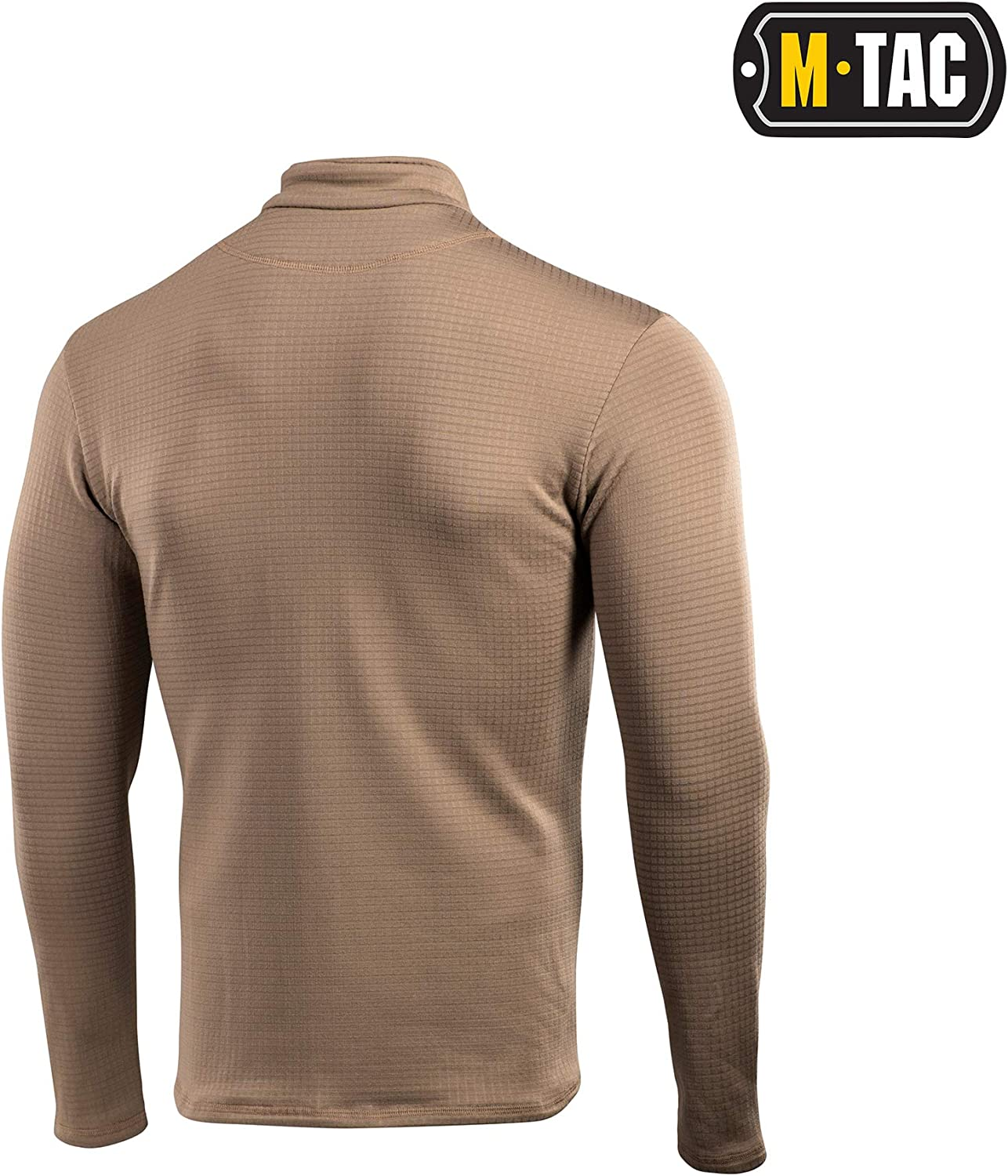 Delta Level 2 Mens Top Thermal Underwear for Men Fleece Lined Compression Shirt
