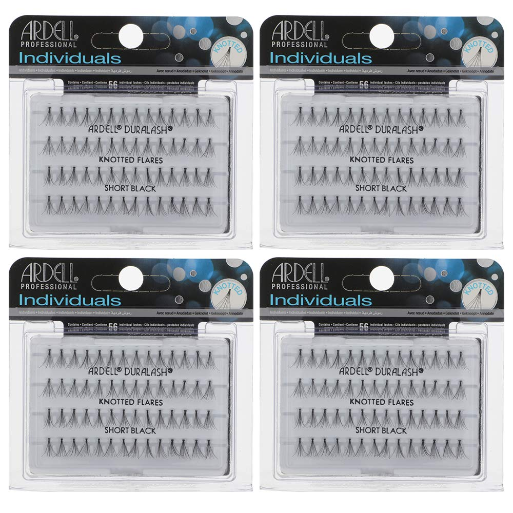 Ardell False Eyelashes Short Black 4 Pack