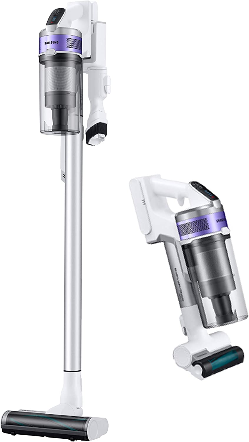 Samsung Jet 70 Pet Stick Lightweight Cleaner with Removable Long Lasting Battery and 150 Air Watt Suction Power Cordless Vacuum with Mini Motorized Tool (VS15T7032R4), Violet