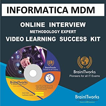 Amazon com: INFORMATICA MDM Online Interview video learning