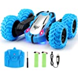 Tobeape RC Cars, 4WD Off Road Remote Control Car, Double Sided Rotation Stunt Car, 360°Spin Flips Vehicle, 2.4GHz RC…