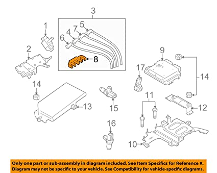 amazon com: mazda oem 04-11 rx-8 1 3l-r2 ignition-plug wire support  f20118141: automotive