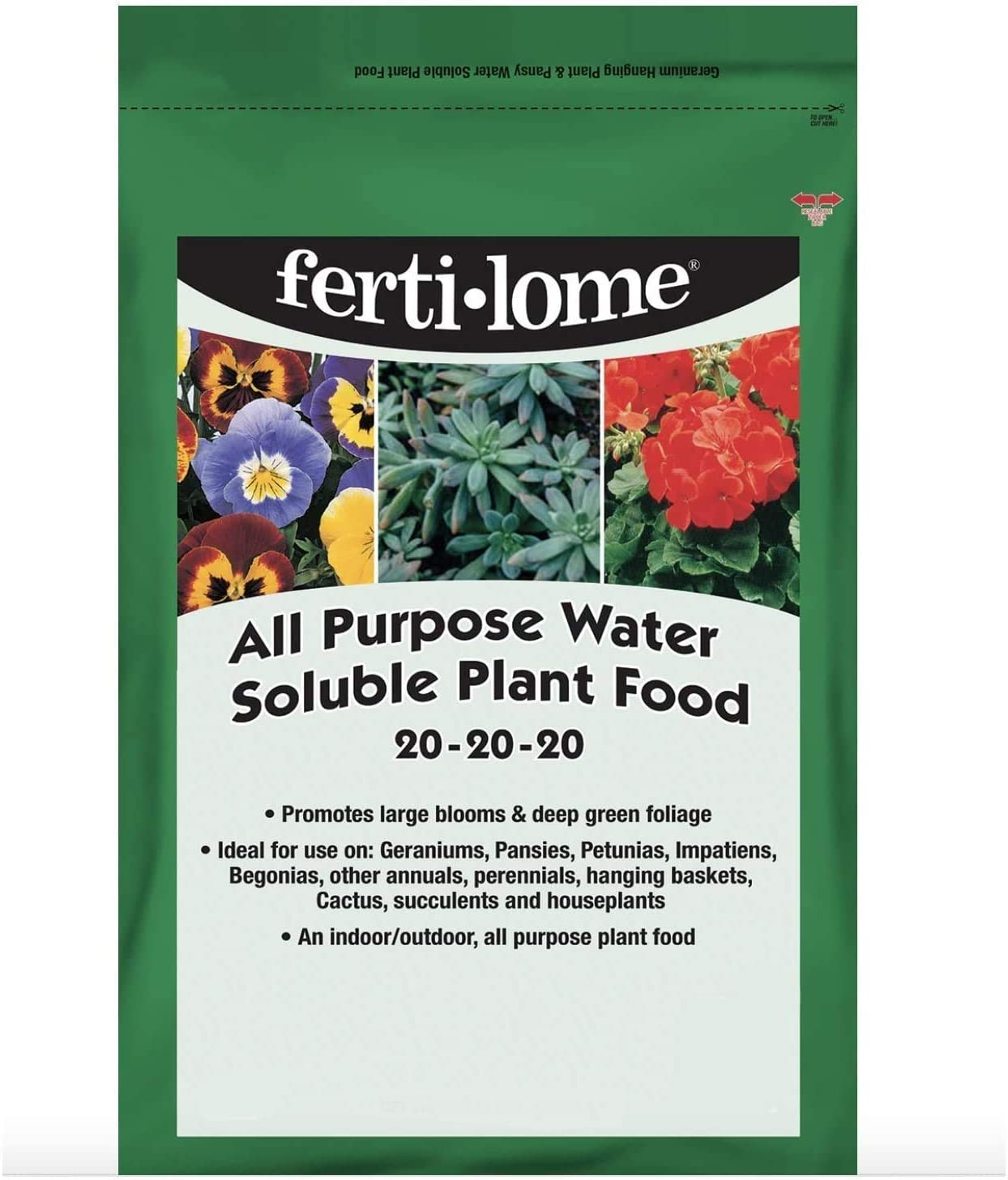 Fertilome 11722 All Purpose 20-20-20 Water Soluble Plant Food - 3 lbs.