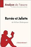 Roméo et Juliette de William Shakespeare (Analyse de l'oeuvre): Comprendre la littérature avec lePetitLittéraire.fr (Fiche de lecture)