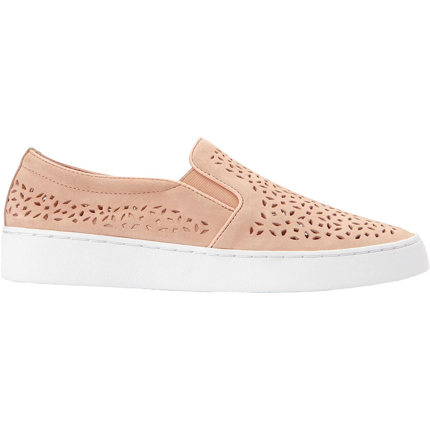 Vionic New Women's Splendid Midi Perf Slip On Dusty Pink 10