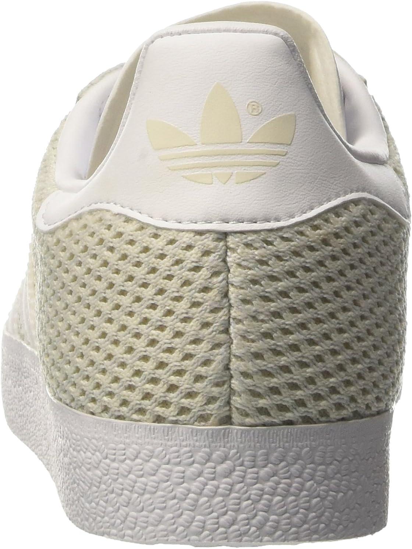 adidas Gazelle, Baskets Basses Femme Beige Talc Footwear White Talc