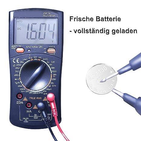 40 Stück AG13 LR44 1.5V Alkaline Knopfzelle Batterien Ohne Quecksilber 357//357A