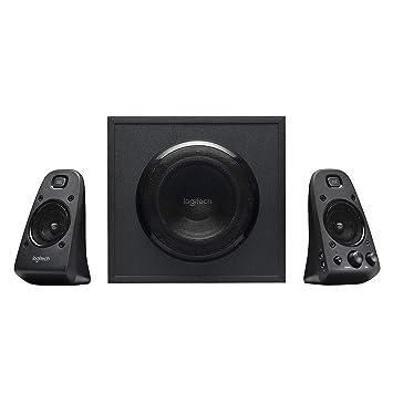 Logitech Z9 THX 9.9 Speaker System with Subwoofer, THX Certified Audio,  9 Watts Peak Power, Deep Bass, Multi Device, 9.9mm & RCA Inputs, Easy