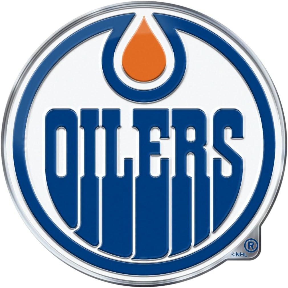 FANMATS Edmonton Oilers Heavy Duty Aluminum Color Emblem