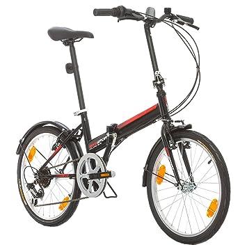 "Bikesport FOLDING Bicicleta plegable ruedas de 20"" Shimano 6 velocidades ..."