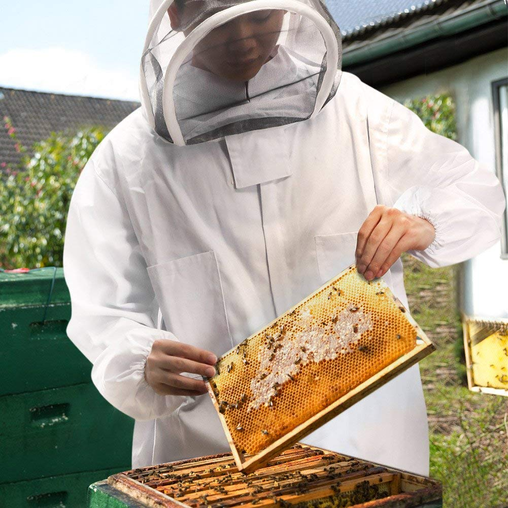 85f6b46cc Amazon.com : Beekeeping Suit Cotton Full Body Bee Keeping Suit Bee ...