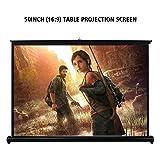"""Henzin Projector Screen, 50"""" Diag HD 16:9 Portable"""