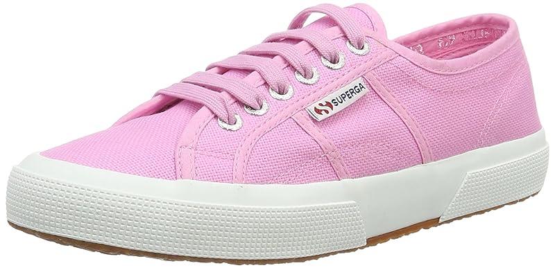 Superga 2750 Cotu Classic Sneakers Low-Top Unisex Damen Herren Rosa (Rosa Begonia)