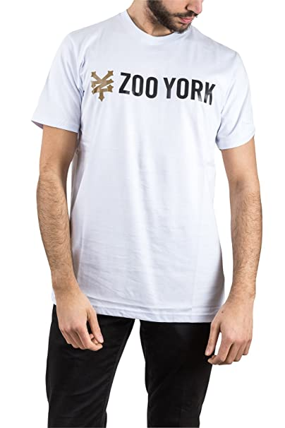Zoo York Camiseta - Para Hombre Bianco S