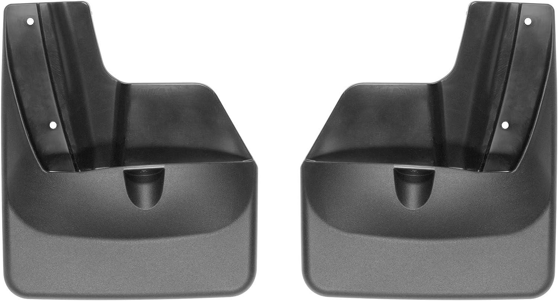 Rear Pair Black WeatherTech Custom MudFlaps for Subaru Outback 120072