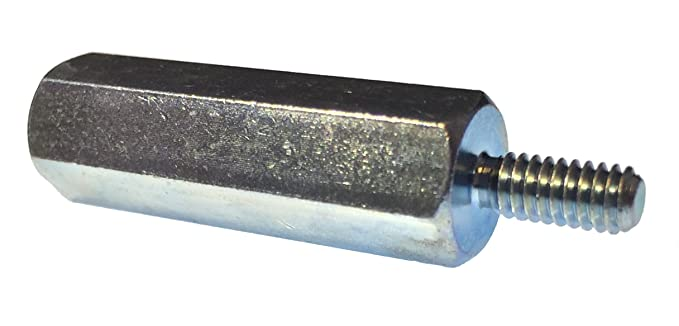 8-32 Screw Size 0.312 OD Female Lyn-Tron 9 Length, Pack of 1 Zinc Plated Steel