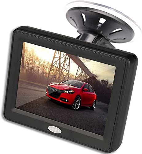 Lttrbx 12 2.5K Mirror Dash Cam Front and Rear for Cars with Large Full Touch Screen, Adjustable Wide Angle, IPX7 Waterproof, WDR Night Vision, Sony IMX335 Starvis Sensor, Parking Monitor
