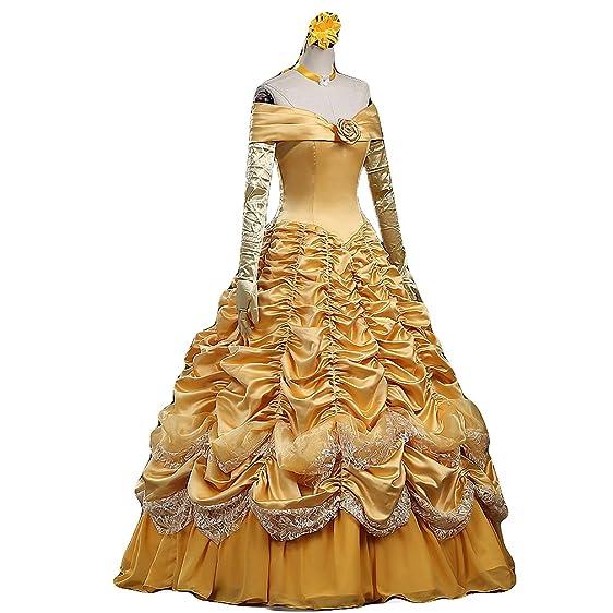Amazon.com: Halloween Costume Women\'s Deluxe Princess Cosplay ...