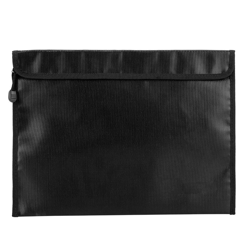 Fireproof Document Bags Waterproof with Zipper for Document Money Passport and Valuables