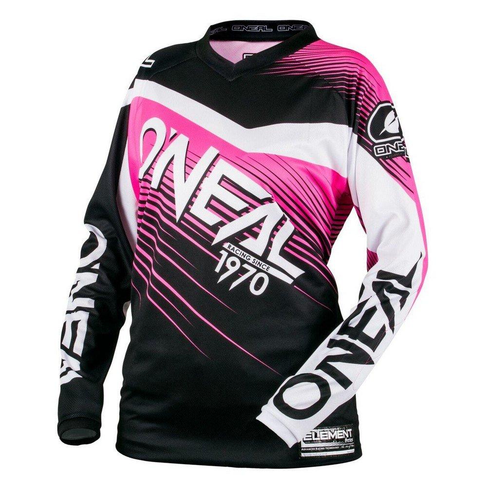 O'Neal 0006-705 Youth Element Racewear Jersey (Black/Pink, X-Large)