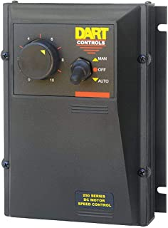 product image for DART CONTROLS 253G-200E-7 with AUTO Manual Function, Isolated Signal Follower, DC Drive, 250 Series, MAX Armature AMPS DC: 1.6 to 10.2/1.4 to 9.9 AMPS, NEMA 4/12, 90/180 VDC, Control with 4-20MA, 1/8