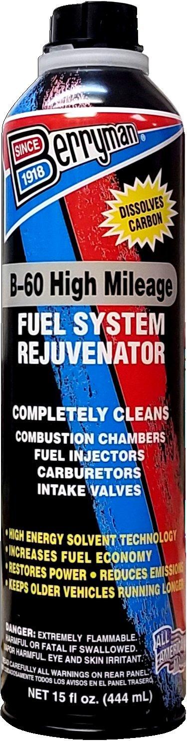 Berryman 7516 High Mileage Fuel System Rejuvenator, Pour Can 15 fl.oz