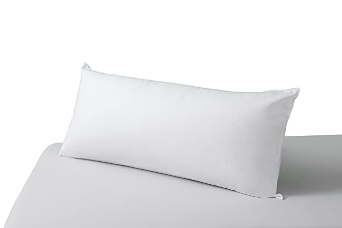 SAVEL, Almohada Antiácaros con Tejido 100% algodón, Firmeza Media, 90x40cm