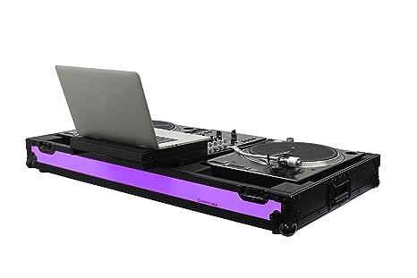 Odyssey ffxgslbm10wbl Universal Tocadiscos DJ ataúd w/ruedas ...